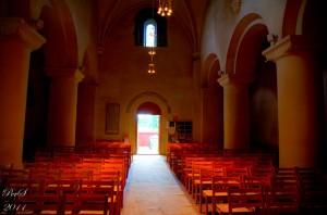 Søsterkirkene innside