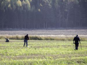På tur med Norges Metallsøkerforening en deilig dag i oktober (Foto Per Sibe)